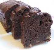 ホットケーキミックス♪チョコバナナケーキ