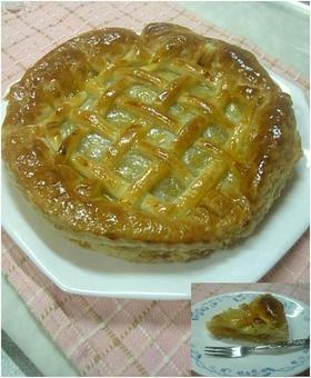 我が家の手作りアップルパイ