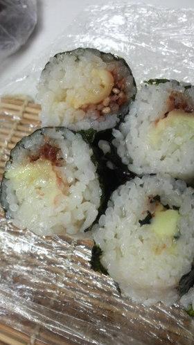 巻き巻きつまめる♪お寿司なおにぎり♪