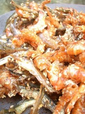 韓国おばんざい 干しえびと煮干の炒め煮