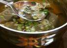 海苔とネギのスープ
