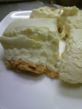 モロゾフのレアチーズケーキ!?