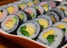 菜の花の巻き寿司