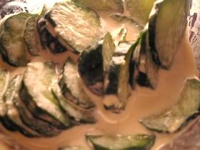簡単:きゅうりのワサビマヨネーズ和え
