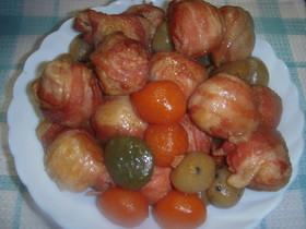 里芋の豚バラ巻き煮