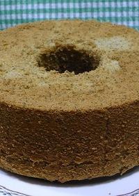 米粉の緑茶シフォンケーキ