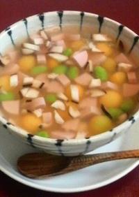 カラフル卵豆腐♪トロ~リ葛餡☆