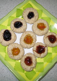 キラキラ☆ジャムクッキー