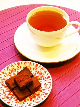 ☺バレンタインに♥簡単♪紅茶の生チョコ☺