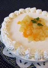 ヘルシー♪冬みかんのヨーグルトケーキ ♡