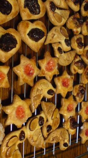 簡単型抜きクッキー