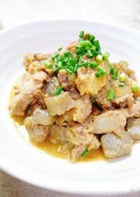 圧力鍋で☆豚軟骨の味噌煮
