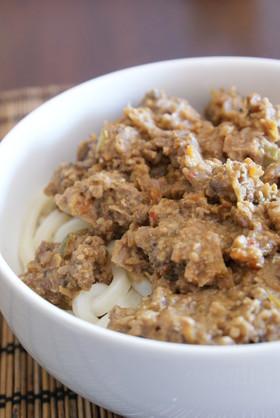 ジャージャー麺(肉味噌うどん)