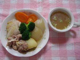 野菜のスープ煮&スープ