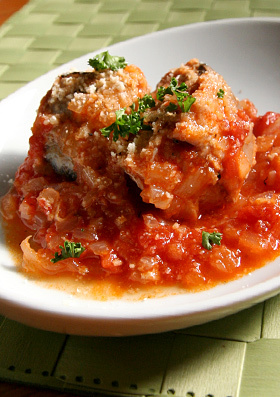 超簡単!さばとトマトの煮込み