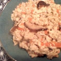 しっかり和食(´Д`)大好きいり豆腐