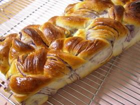 折込シートdeブルーベリーヨーグルトパン