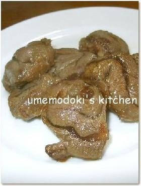 お弁当に「牛すね肉のニンニク醤油焼き」
