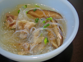 あったか*圧力鍋で豚バラ大根スープ