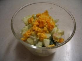 ミモザ風アボカドのたまごサラダ