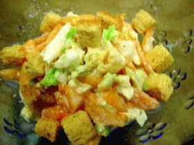 はなびし草の白菜と柿のコールスローサラダ