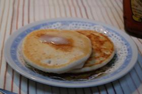 米粉ホットケーキ(アレルギー対応)