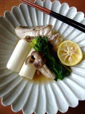【簡単】『電子レンジ』で白身魚あっさり煮