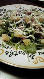 シーザーサラダっぽい簡単サラダの写真