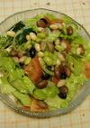 六種類の豆のサラダ