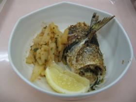 秋刀魚のロール焼き