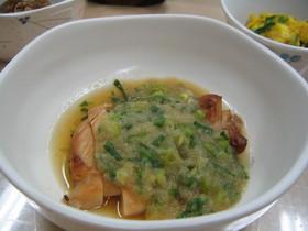 ヘルシー☆若鶏のおろし醤油焼