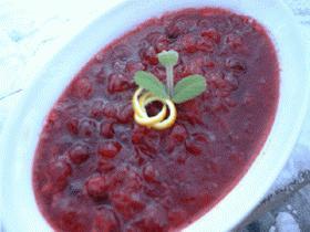 Citrusy Cranberryソース