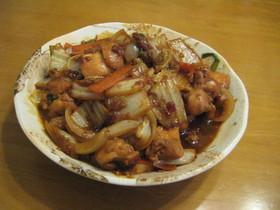 ★手軽に韓国★プルコギ風 鶏肉の炒め物