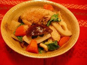 中華風いり鶏