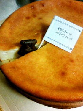 カッテージチーズでベイクドチーズケーキ