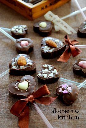 バレンタイン♥ハートのチョコスティック♥