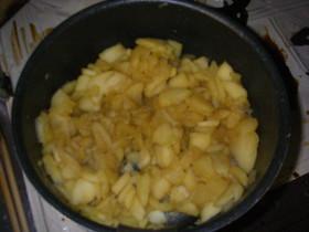 *煮っこりんご*