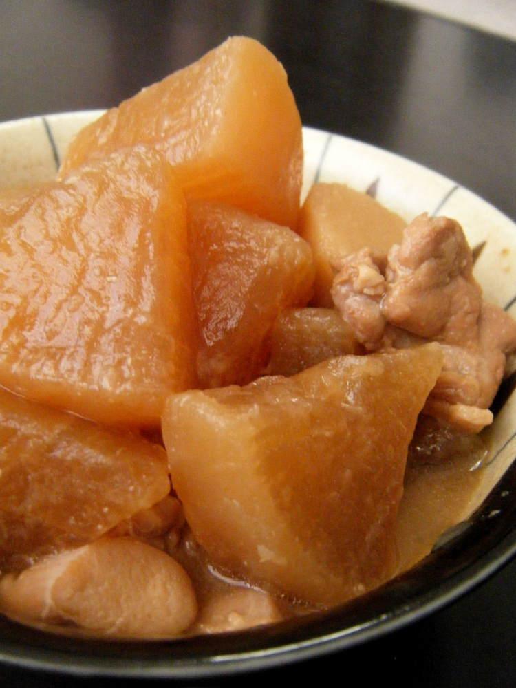 大根と里芋の味噌煮