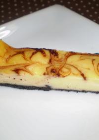 ヨーグルトdeチーズケーキの味♪