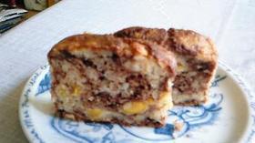 計量簡単☆長いも de マーブルケーキ