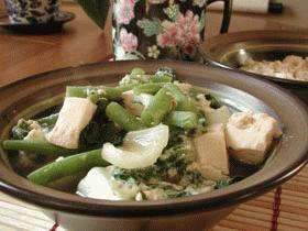野菜とお豆腐のさっと煮