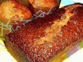 カラメルタブレットでパウンドケーキ
