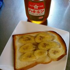 ごはんにもおやつにも蜂蜜バナナのトースト