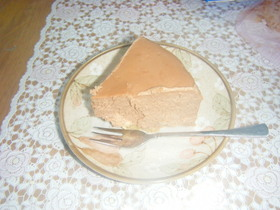 絶品だよ☆チョコチーズケーキ