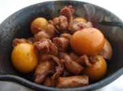 オフクロの味、鶏モツ/キンカン付の煮付けの写真