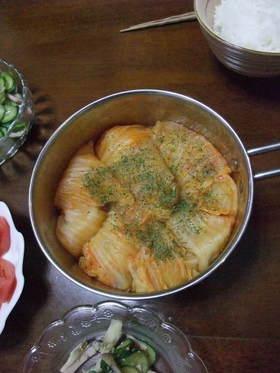 シュウマイで。ロール白菜