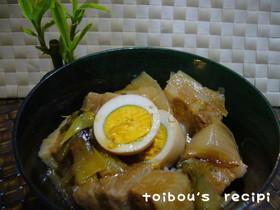 とろっとろ❤豚角煮丼