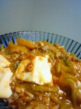 キャベツ☆麻婆豆腐