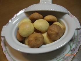 軽~い食感♪卵1個でノンオイルクッキー☆