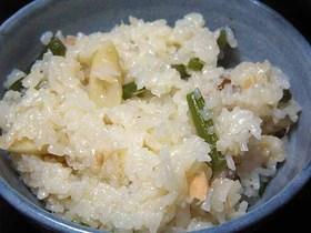 しらたきごはん~山菜とシーチキン篇